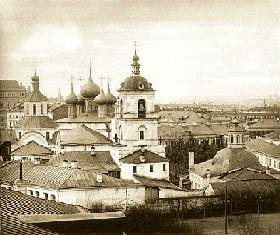 Monastery of St. John Chrysostom, Moscow (end of the 19th century)